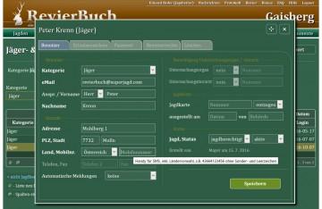 RevierBuch - Jägerverwaltung