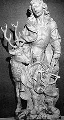 Die Legende des heiligen Hubertus