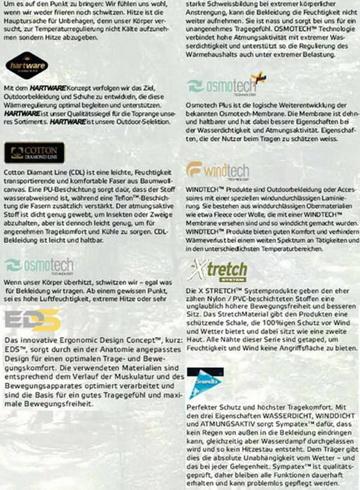 Materialbeschreibung<small>&copy Hart</small>