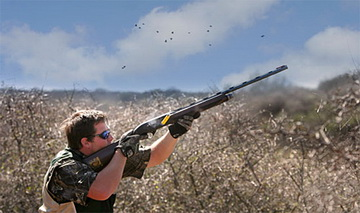 Dove shooting<small>&copy Puelo Expeditions</small>