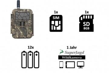 SuperJagd Wildkamera Service - Set