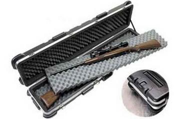 SKB Waffenkoffer für 2 Langwaffen inkl. Transportrollen