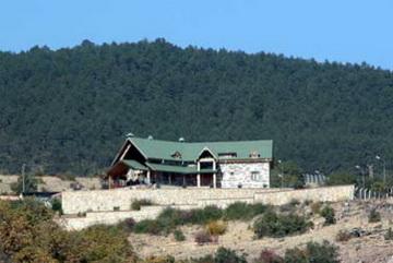 Typisches Jagdhaus