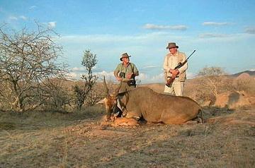 erfolgreiche Jagd auf Okandukaseibe