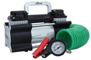 Slime® 2X Twin Cylinder 12 Volt Luftkompressor