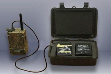 Box für Akku  6V - wasserdicht