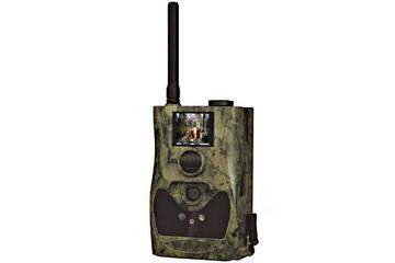 Digitaler Foto Schuss schwarze LED Wildkamera, 8 Mega-Pixel mit MMS, SMS und eMail Funktion