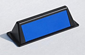 Wildwarnreflektor in blau