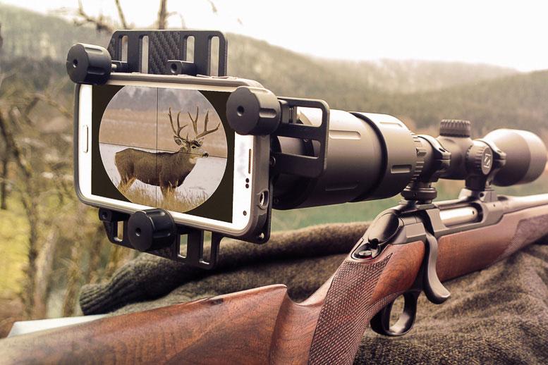 g-line smart shoot adapter für Zielfernrohre mit Okulardurchmesser 38 bis 46 mm