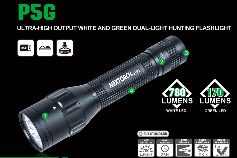 Nextorch P5G - Jagdlampe