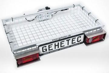 Beleuchtungsnachrüstsatz mit Schlagschutzsatz und Kennzeichenhalter für die Modelle Deep