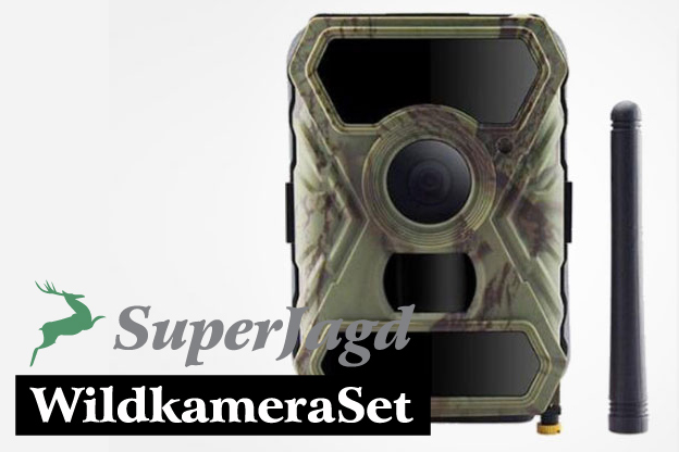 SuperJagd WildkameraSet 1 mit IoT 3G 12MB