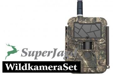SuperJagd WildkameraSet 2 mit Uovision 595 2G
