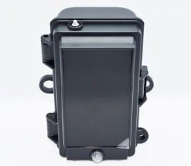 Zusatzblitz mit 128 schwarzen/black LED's für alle Wildkameras