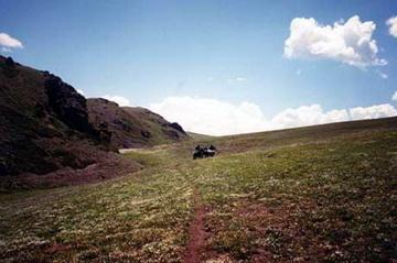 Landschaftsimpression Ily Alatau