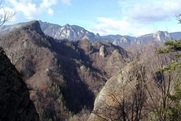 Blick von Capatanii Gebirge Richtung Parangul Mare<small>&copy H. R.</small>