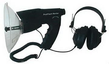 Hörverstärker mit Kopfhörer