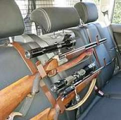 Gewehrhalter - Abbildung Rücksitz