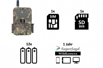 SuperJagd Wildkamera Service - Set