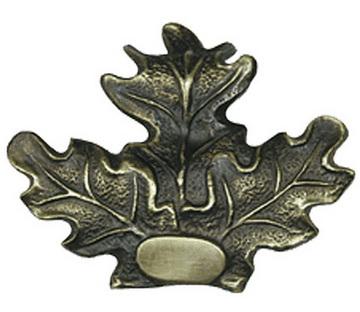 Eichenlaub 3-blättrig, Bronze