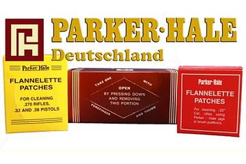 Patches aus Flanell von Parker Hale