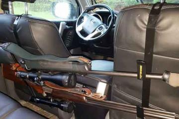 Gewehrhalter - Vodersitzlehnen mit Haken Modell Diana