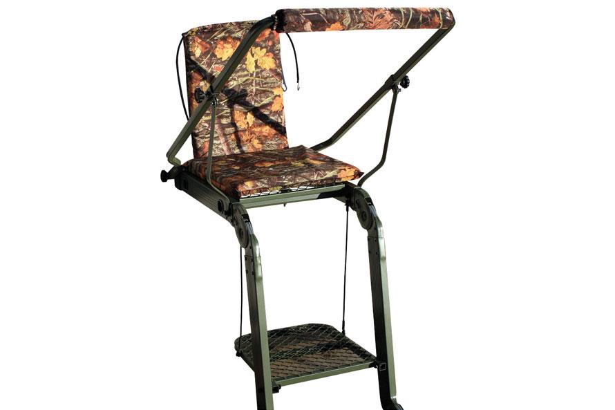 Leitersitz aus Aluminium - klappbar