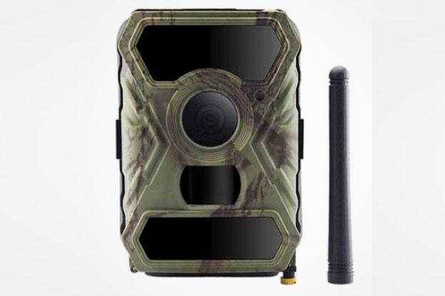 Weitwinkel Wildkamera IoT 3G Mobilfunk 12MB schwarze LED