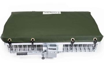 Abdeckplane für Wildträger