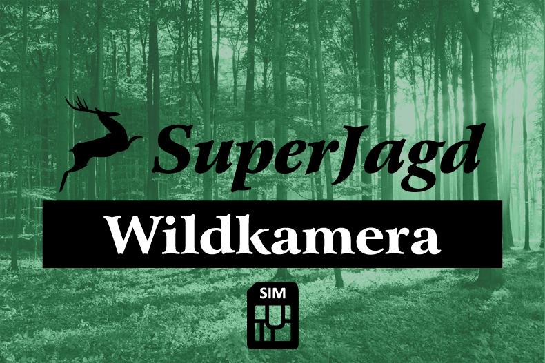 SuperJagd Wildkamera Service inkl. SIM Karte für 1 Jahr